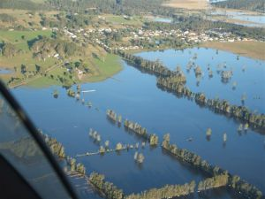 Same paddocks in flood