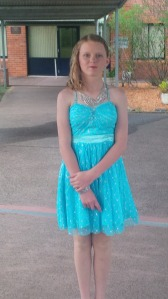 Miss 12 on her year 6 formal night.